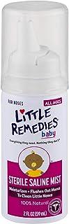 Little Remedies Sterile Saline Nasal Mist   Safe for Newborns   2 Fl Oz (Pack of 1)