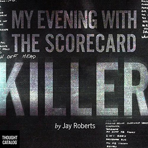 My Evening with the Scorecard Killer audiobook cover art