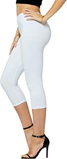 Conceited Premium Ultra Soft High Waisted Leggings - 20+ Colors in Capri and Full Length - Regular and Plus Size