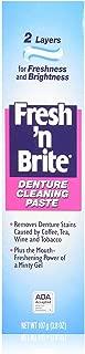 Fresh 'N Brite Denture Cleaning Paste 3.80 oz (Pack of 7)