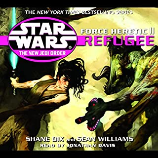 Star Wars: The New Jedi Order: Force Heretic II: Refugee cover art