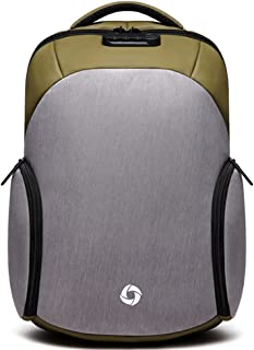 VICPO Oxford Cloth Large Capacity Waterproof Backpack (Off-White)