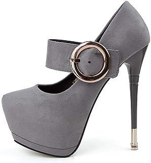 Ying-xinguang Shoes Fashion Platform Women's Shoes Sexy Thin with Slimming High Heels Women's High-Heeled Comfortable