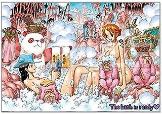 ONE PIECE 連載20周年記念 フルカラーアートボード < WINTER > 入浴 [ ONE PIECE 10th TREASURES 描き下ろし]ワンピース 約158×228mm