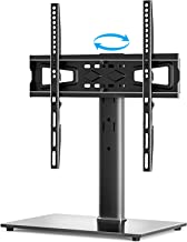 YOMT Universal TV Stand Base TV Table Stand for 27 to 55 inch LCD LED Flat Screens TVs -Heavy Duty Entertainment Stand Wit...