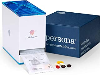 Persona Women's Daily Vitamin Packs | 6 Pills Per Day – 28 Day Supply | All-Inclusive Vitamin Solution | Probiotic, DHA, H...