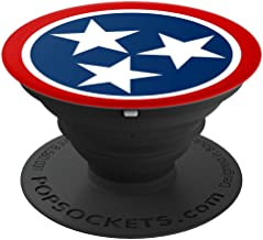 Tennessee Flag PopSockets Grip and Stand for Phones and Tablets