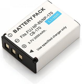 Batería de ion de litio para np-85 np85-Fuji FinePix sl260//sl300-1600 Mah