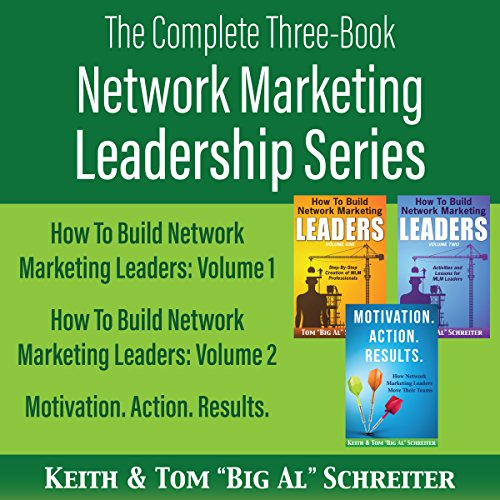 The Complete Three-Book Network Marketing Leadership Series cover art