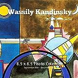 Wassily Kandinsky 8.5 X 8.5 Calendar September 2021 -December 2022: Russian Expressionism -Abstract Art - Monthly Calendar with U.S./UK/ Canadian/Christian/Jewish/Muslim Holidays- Art Paintings