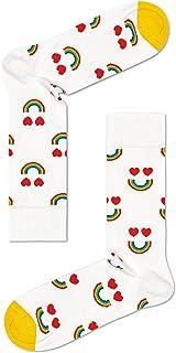 Happy Socks Unisex Printed Happy Rainbow Socks