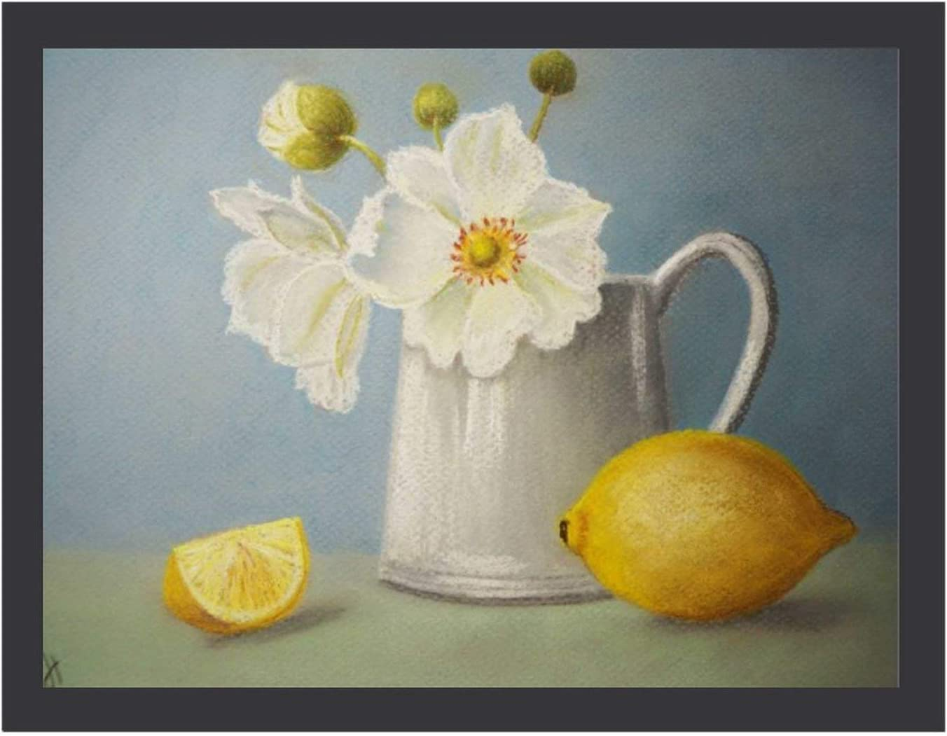 12 × 16 Ranking OFFicial store TOP16 in Still Life with Wall or Black Frame for Lemon Picture