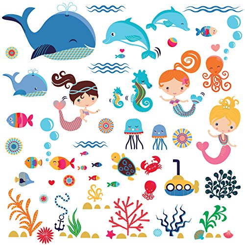 Best mermaid decals for walls for 2020