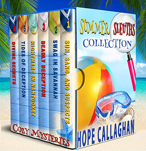 Summer Sleuths Cozy Mysteries Box Set Collection
