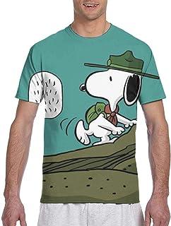 Tシャツsnoopy40 男女兼用 3dプリント 吸水速乾 夏服 半袖 スタイリッシュな半袖 快適 肌着 ゆったり 下着 柔らかい 人気 シャツ インナーシャツ おしゃれシンプル通勤 通学 運動 日常用 プレゼント