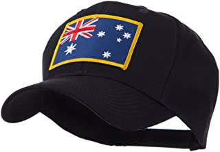OTTO:ACE WORLD Asia Flag Embroidered Patch Cap - Australia OSFM