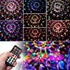Sound Activated Party Lights with Remote Control Disco lights Dj Lighting SOLMORE Disco Ball 9 Colors Strobe Lamp 7 Modes Stage Par Light Club Party Gift Kids Birthday Wedding Home Karaoke Dance #1