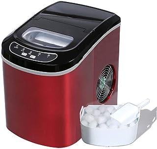 ZJZ Máquina para Hacer Cubitos de Hielo, máquina de Hacer Hielo para encimera eléctrica portátil automática, café en casa ...