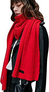 Best red winter scarf Reviews