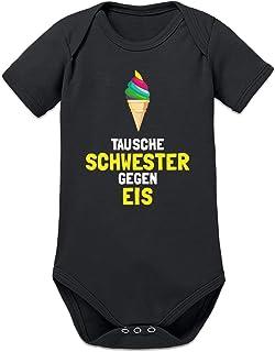 Shirtcity Tausche Schwester gegen EIS Baby Strampler by