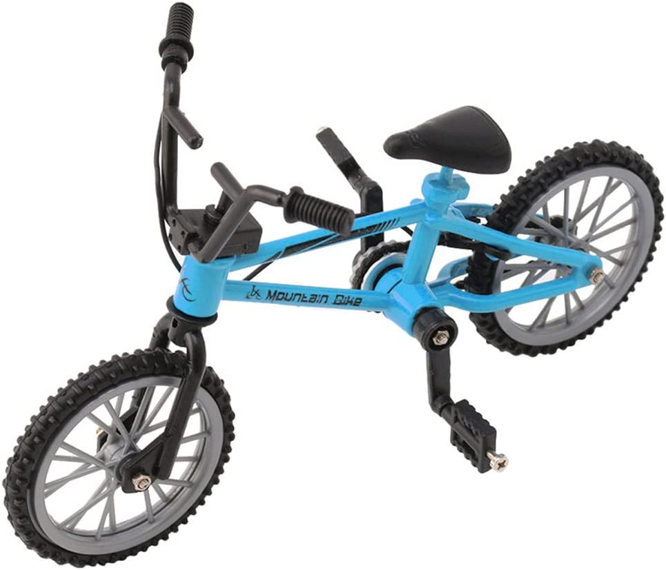 Alloy Finger Bicycle Model Max 81% OFF Mini MTB Fixie Toy Bike Free shipping anywhere in the nation Cre Boys BMX