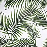 Papel Adhesivo para Muebles Hojas Verdes 45cmX2m Impermeable Papel Pintado Vinilo Pegatina Para...