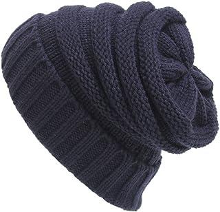 Relaxtime Knited Beanie Hat Cap Soft Warm Winter Hats for Men Women
