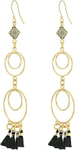 Vanessa Mooney - The Ava Chandelier Tassel Earrings