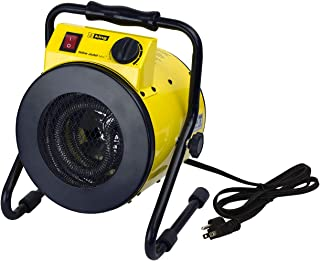 KING PSH1215T Portable Shop Heater with Thermostat, Yellow