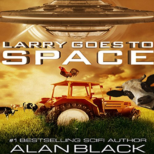 Larry Goes to Space audiobook cover art