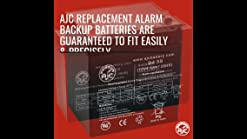 Ademco VISTA-15P Compatible Replacement Battery