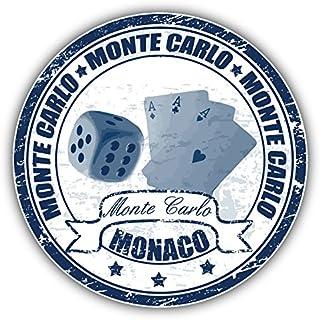 generisch Plaque en m/étal 20 x 30 cm Grand Prix Monaco 1974 Grand Prix Renn Auto