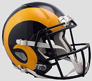 Riddell LA Rams Color Rush Officially Licensed Speed Full Size Replica Football Helmet