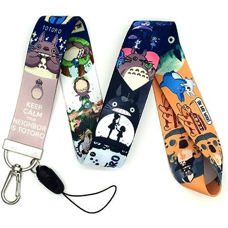 badge SGOT Evebel Naruto 01 Cordon tour de cou pour carte didentit/é cl/é t/él/éphone portable 45 cm