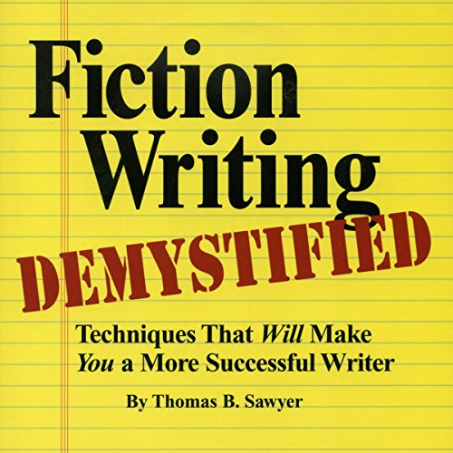 Fiction Writing Demystified audiobook cover art