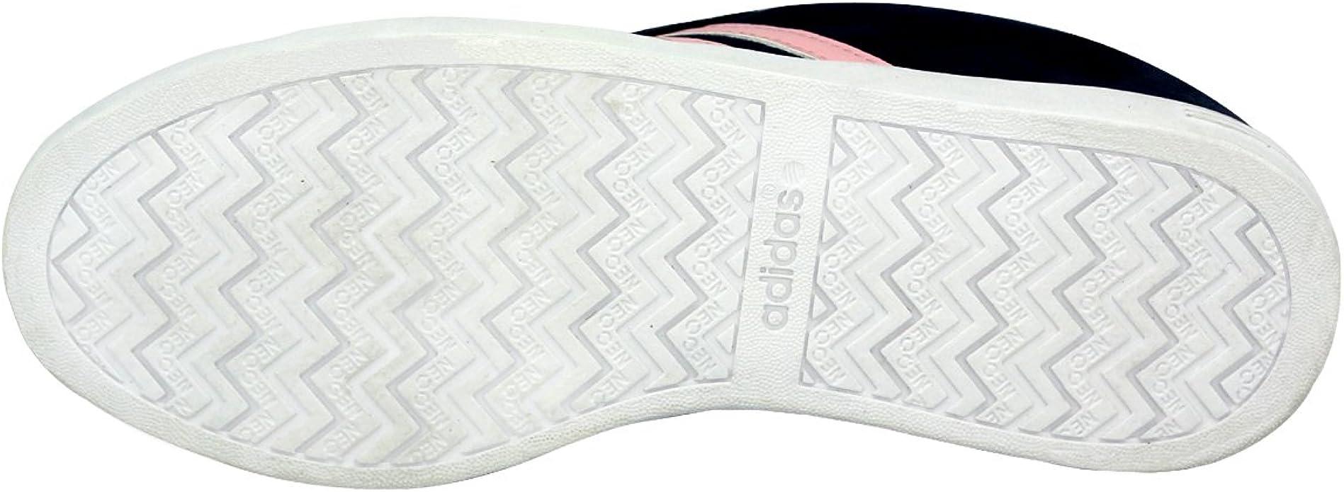 adidas Neo Vlcourt Chaussures Mode Tennis Femme Bleu Rose : Amazon ...