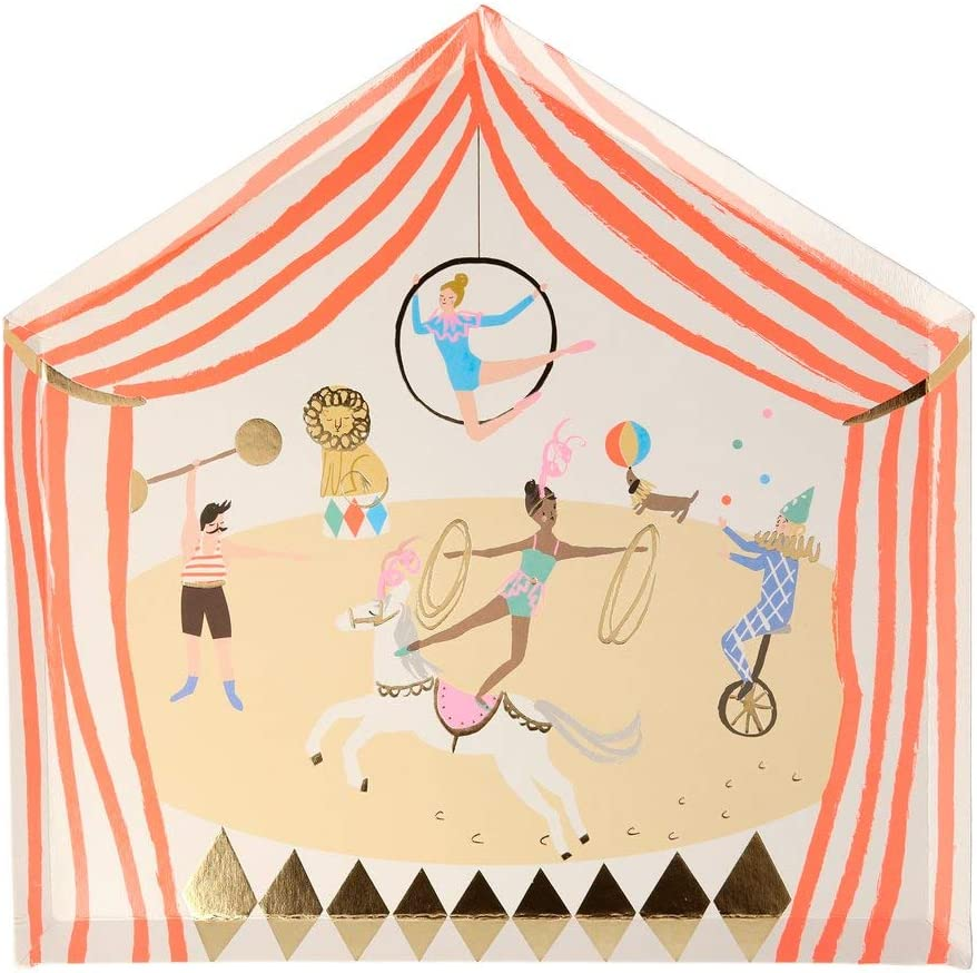 Circus Parade Party Supplies by Meri Meri