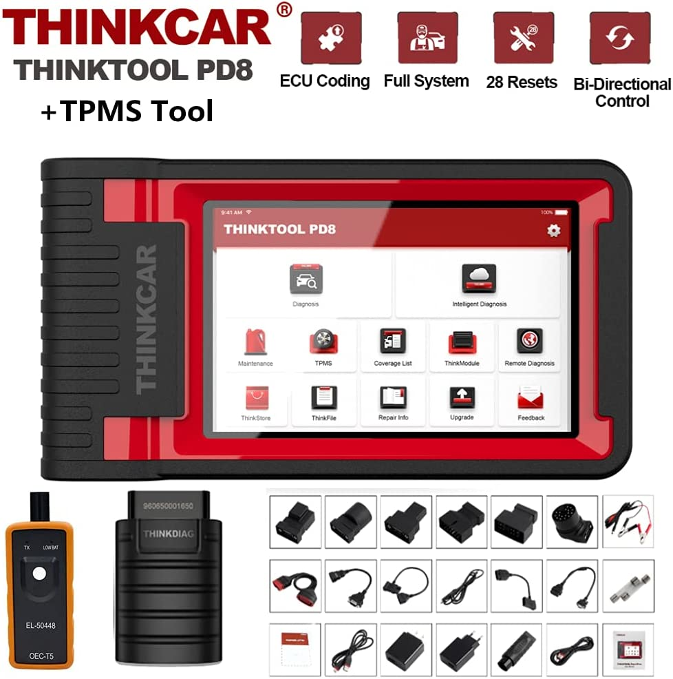 Thinkcar thinktool PD8 TPMS TOOL Bi-Directional Same day shipping Scan A surprise price is realized Advanc Tool