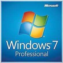 Windows 7 Professional SP1 64bit (OEM) System Builder DVD 1 Pack [Old Version]