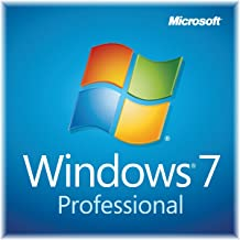 Microsoft Windows 7 Professional SP1 32bit (OEM) System Builder DVD 1 Pack (New Packaging)