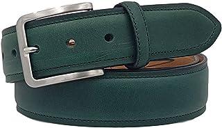 ESPERANTO Cintura in Cuoio foderata in pelle altezza 4 cm - 2 varianti di colore- unisex