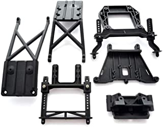 Traxxas 1/10 Slash 2WD Robby Gordon FRONT & REAR SKIDS, SHOCK TOWERS & POSTS by Traxxas