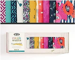 Art Gallery Fabrics Art Gallery Color Master Katarina Roccella Edition No.1 Fat Quarters 10 Pcs Fabric, 1, Multi