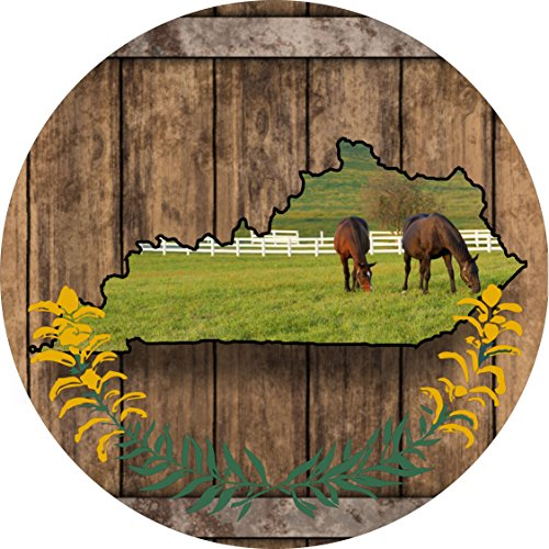 Kentucky Spare Tire Cover for Jeep RV and More
