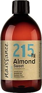 Naissance Huile d'Amande Douce (n° 215) – 500ml – 100% naturelle, végan, sans OGM – inodore, parfaite pour les massages, l...