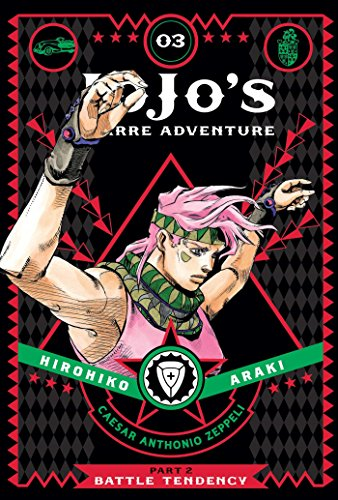 JoJo's Bizarre Adventure: Part 2--Battle Tendency, Vol. 3 (Volume 3)