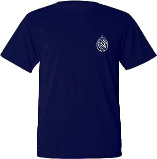 Mycooltee Russian USSR NKVD KGB Soviet Security Service Sweat Proof Navy Blue t-Shirt