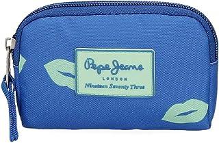 Monedero Pepe Jeans Ruth, Azul, 12x8x2 cm
