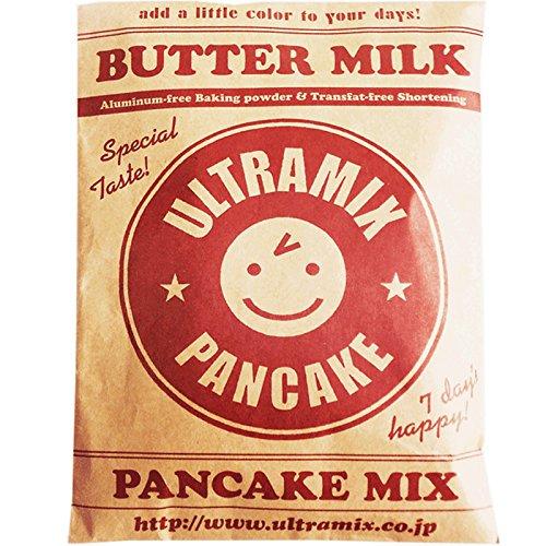 北海道産バターミルク入り・ウルトラミックス・パンケーキミックス プレーン200g ホットケーキミックス