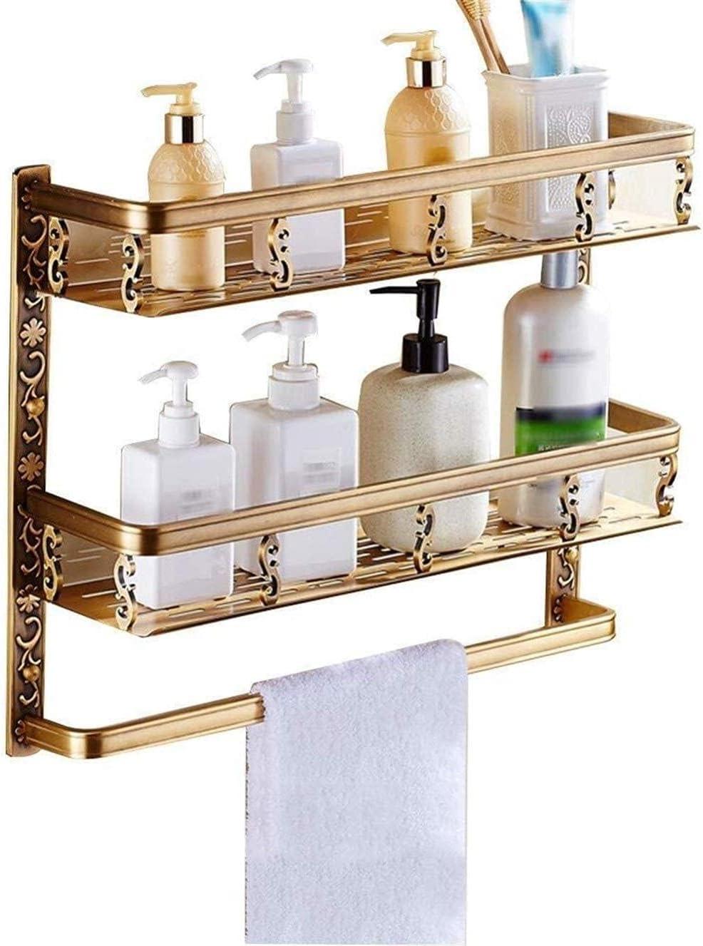 Towel Rack quality assurance Hanger Bathroom Wall Hanging Shelf Direct stock discount Space Anti-Rust Mu